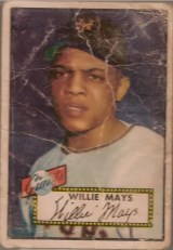 1952 Topps Willie Mays #261