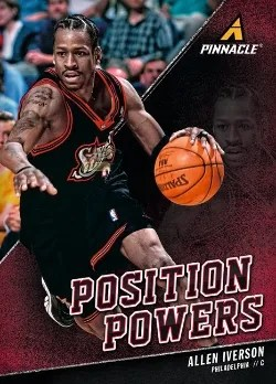 2013/14 Panini Pinnacle Position Powers Allen Iverson Insert