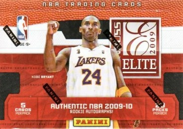 09/10 Panini Elite Basketball Box