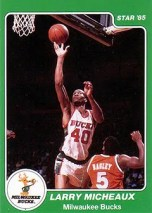 1984/85 Star Larry Micheaux