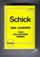 1985 Star Basketball Schick NBA Legends Collectors Series Complete Set
