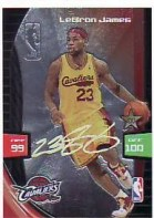 2009/10 Panini Adrenalyn LeBron James Ultimate