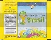 2014 Panini World Cup Sticker Pack
