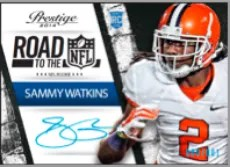 2014 Panini Prestige Sammy Watkins Road to the NFL