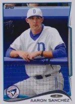 2014 Topps Pro Debut Aaron Sanchez Sp