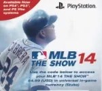 2014 MLB The Show '14 Stub