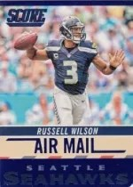 2014 Score Football Air Mail Russell Wilson
