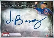 2014 Bowman Sterling Javier Baez Showcase
