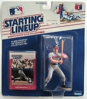 1988 Kenner Ken Oberkfell Starting Lineup