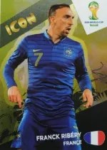 2014 Adrenalyn World Cup Icon Franck Ribery