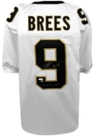 Drew Brees Autographed Jersey