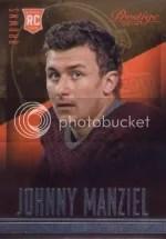 2014 Panini Prestige Johnny Manziel