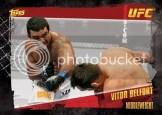 2010 Topps UFC Vitor Belfort Base Card