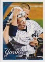 Mark Texeira Pie In Face 2010 Topps SP Card