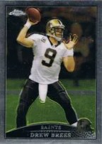 Drew Brees Saints Topps Chrome