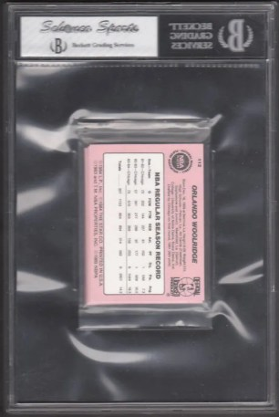 1984/85 Star Chicago Bulls Sealed Bag Back Graded