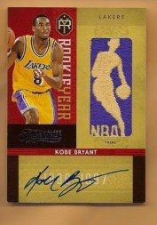 2009/10 Timeless Treasures Kobe Bryant Rookie Patch Logoman