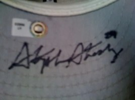 Stephen Strasburg Autographed Game Used USA Hat