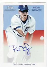2010 Topps Chicle Brent Dlugach Autograph