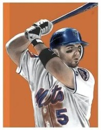 David Wright Topps Chicle Base Card