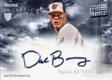 2013 Bowman Inception Dylan Bundy Auto