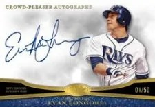 2013 Topps Tier One Evan Longoria