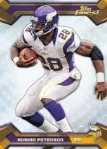 2013 Topps Finest Adrian Peterson