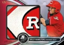 2013 Bowman Platinum Billy Hamilton