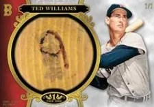 2013 Topps Tier 1 Ted Williams Bat Knob