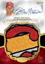 2013 Topps Tier One Stan Musial Patch