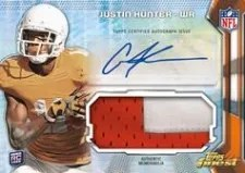 2013 Topps Finest Justin Hunter