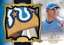 2013 Topps Tier One Mike Trout Relic