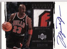 Michael Jordan Exquisite Patch Autograph