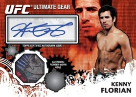 2010 Topps UFC Ultimate Gear Relic Auto Cards