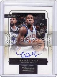2009/10 Panini Classics Toney Douglas RC Autograph