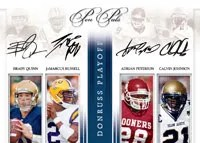 National Treasures Quad Auto Cards
