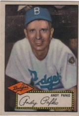 Andy Pafko 1952 Topps #1
