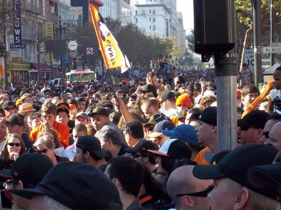 SF Giants World Series Parade Picture