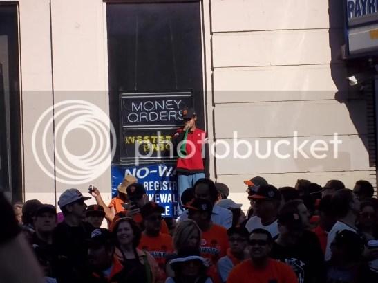 2010 San Francisco Giants World Series Parade Photos