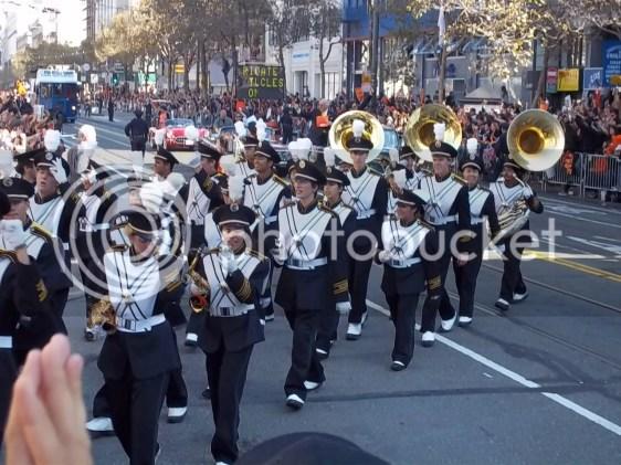 2010 San Francisco Giants Parade Band Photo
