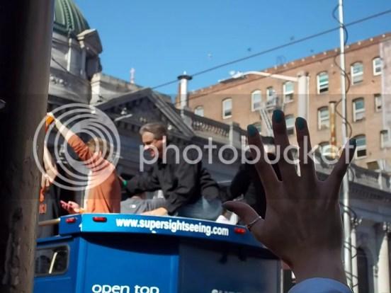 Giants Broadcaster Duane Kuiper World Series Parade