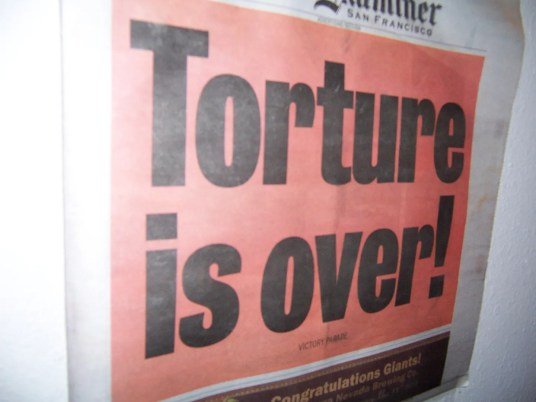 Torture is Over SF Giants Newspaper Headline