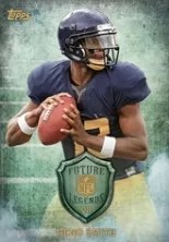 2013 Topps Geno Smith Future Legends