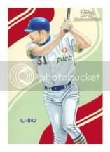 2010 Topps Chicle Baseball Ichiro