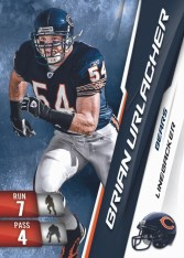 2010 Panini Adrenalyn XL Football Brian Urlacher