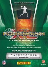 2010 Panini Adrenalyn XL Football Drew Brees Ultimate Back