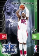2009/10 Adrenalyn Xl Carmelo Anthony All Star