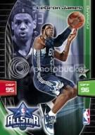 2009/10 Panini Adrenalyn LeBron James All Star