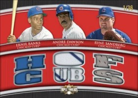 2010 Topps Triple Threads Cubs Relic Combo