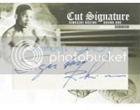 2010 Ringside Boxing Sugar Ray Robinson Cut Signature Auto